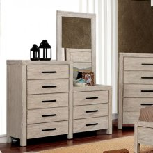 Strasburg 8-drawer Dresser Mirror