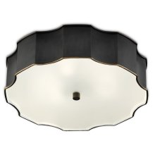 Wexford Bronze Flush Mount