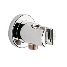Starlight® Chrome Wall Union With Holder