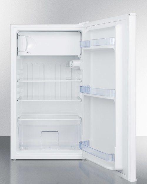 Built-in Undercounter Refrigerator-freezer In White for Use In ADA Compliant Settings
