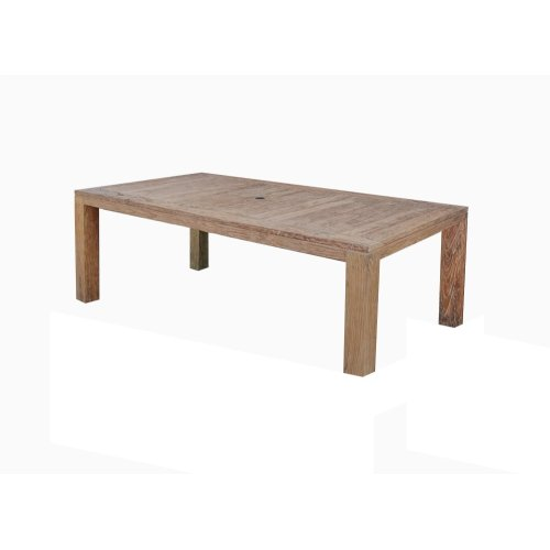 Emerald Home Reims Rect. Dining Table Weathered Teak Od1207-16