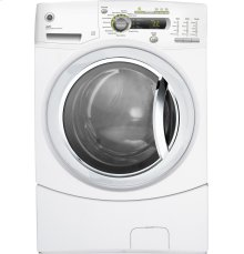 GE® 4.1 DOE cu. ft. stainless steel capacity frontload washer