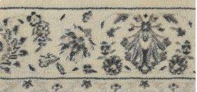 PERSIAN EMPIRE MODERN KASHAN PE218 IVORY-B 9''