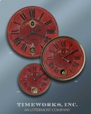 Regency Villa Tesio, Wall Clock Product Image