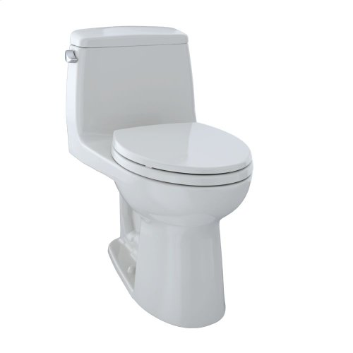 Eco UltraMax® One-Piece Toilet, 1.28 GPF, Elongated Bowl - Colonial White