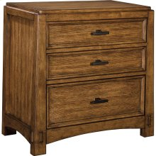 Winslow Park 3-Drawer Nightstand