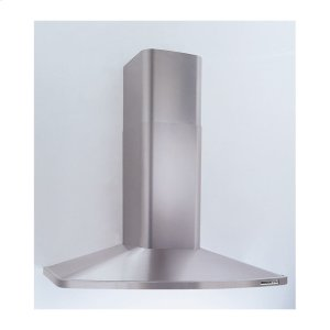 "Broan42"" Stainless Steel Chimney Hood, 370 CFM Internal Blower"