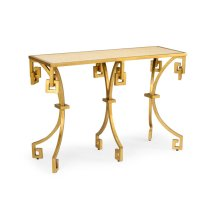 Athen's Console - Gold/tan