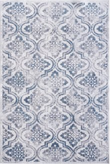 Mosaic Cream/grey/blue 1672 Rug