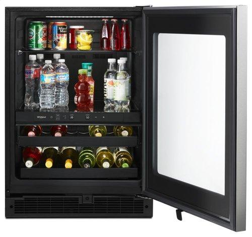 24-inch Wide Undercounter Beverage Center - 5.2 cu. ft.