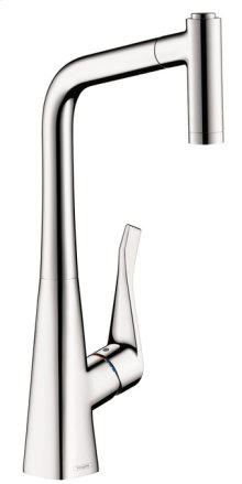 Chrome Prep Kitchen Faucet, 2-Spray Pull-Out, 1.75 GPM