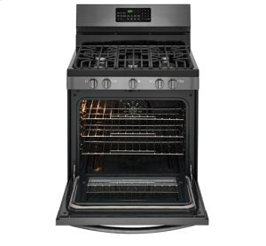 Frigidaire Gallery Black Stainless Gas Range