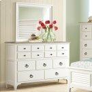 Myra - Nine Drawer Dresser - Natural/paperwhite Finish Product Image