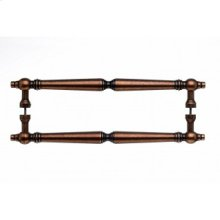 Asbury Door Pull Back to Back 18 Inch (c-c) - Old English Copper