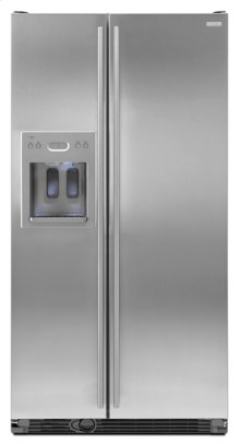72-Inch Cabinet Depth Euro-Style Side-by-Side Refrigerator with Dispenser