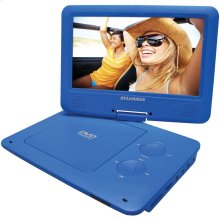 "9"" Portable DVD Player with 5-Hour Battery (Blue)"