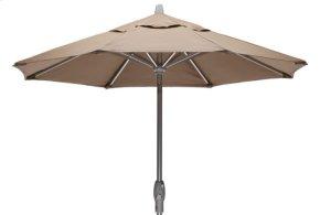 7 1/2' Market Umbrella w/ Powdercoat Aluminum Frame and Push Button Tilt