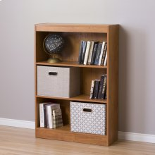 3-Shelf Bookcase - Country Pine