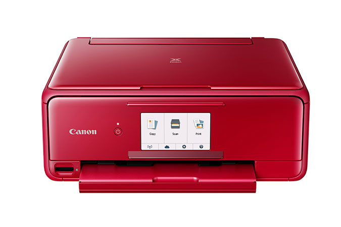 Canon PIXMA TS8120 Red Wireless Wireless Inkjet All-In-One Printer