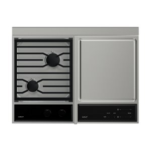 Cooktop/Module Filler Strip for Downdrafts -