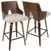 Ariana Counter Stool - Beige Product Image