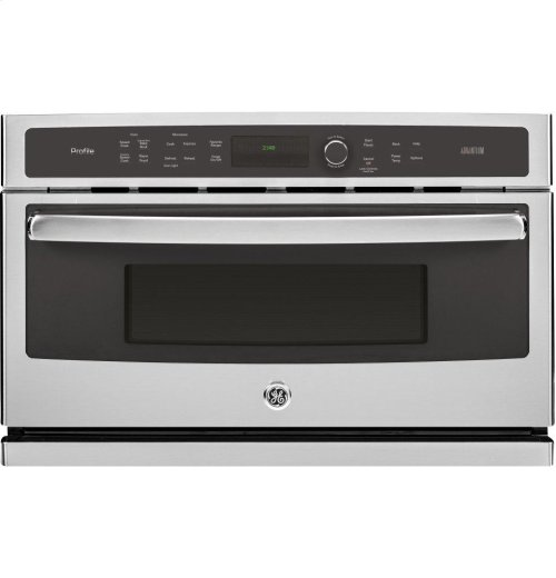 GE Profile™ Series 30 in. Single Wall Oven with Advantium® Technology