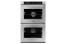 """30"""" Heritage Double Wall Oven, Silver Stainless Steel with Flush Handle Product Image"""