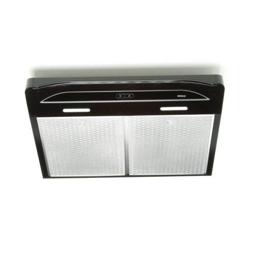 Alta 36-inch 300 CFM Black Range Hood with LED light