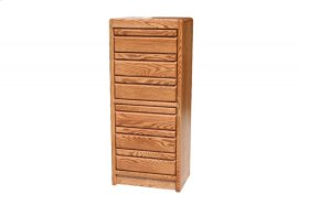 O-C326 Modern Oak 6-Drawer Lingerie Chest