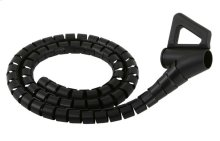 Monster ® Essentials Cable Management Kit: 8 ft. Medium Black (FLOOR MODEL)
