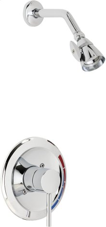 Pressure Balancing Shower Valve with Shower Head