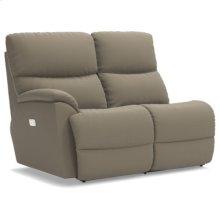 Trouper Power La-Z-Time® Right-Arm Sitting Reclining Loveseat w/ Power Headrest
