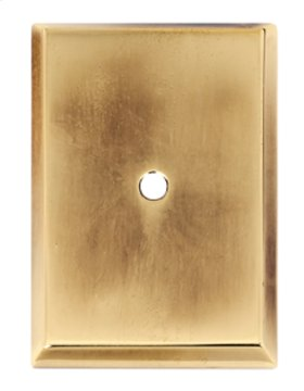 Traditional Backplate A610-38 - Polished Antique