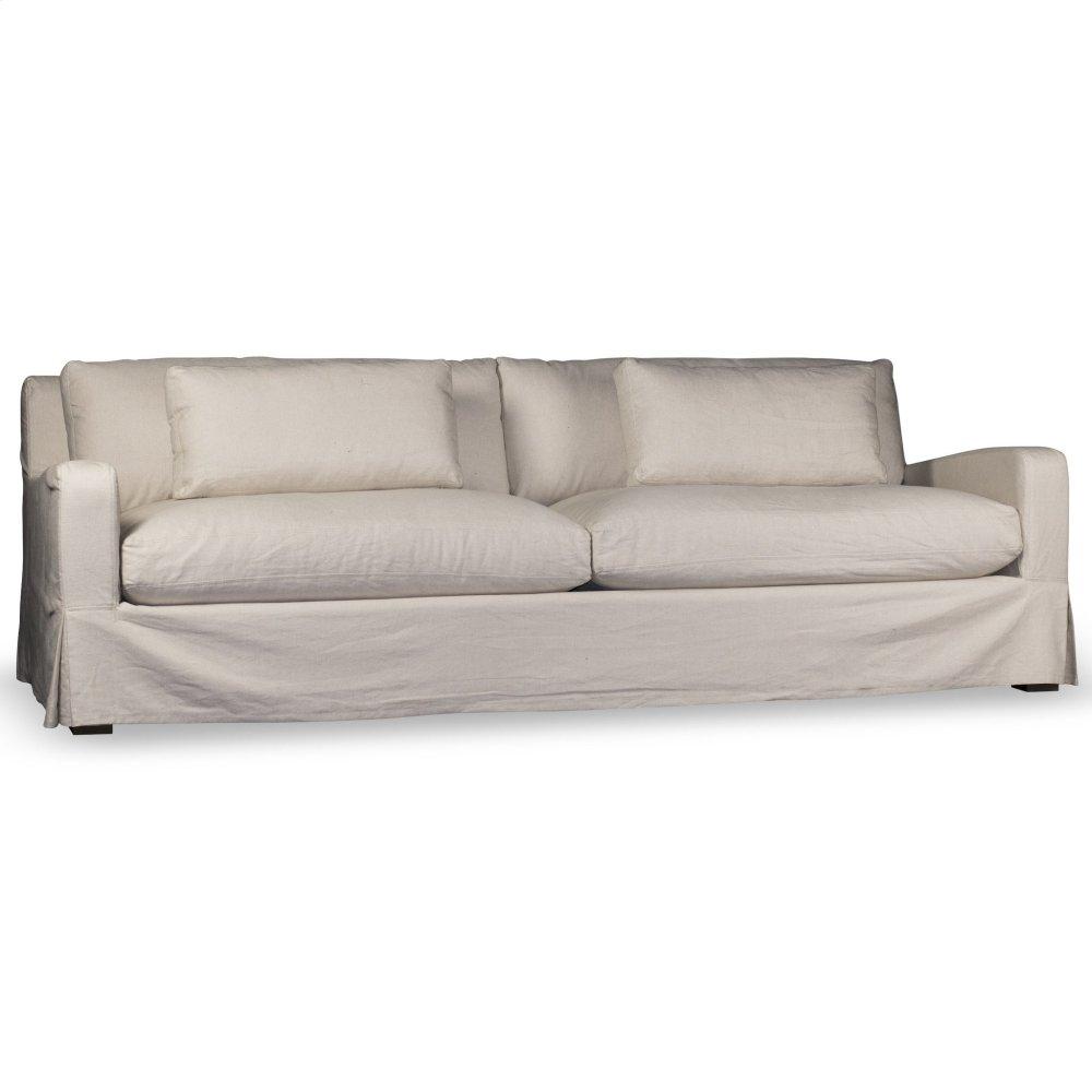 Hampton Slipcover Sofa   Light Linen