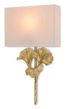 Gingko Gold Wall Sconce