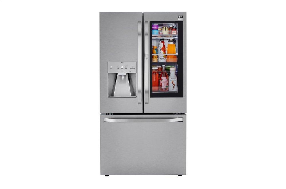 LG StudioLg Studio 24 Cu. Ft. Smart Wi-Fi Enabled Instaview™ Door-In-Door® Counter-Depth Refrigerator With Craft Ice™ Maker