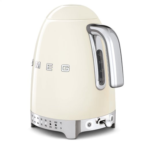 Variable Temperature Kettle, Cream