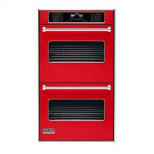 "Racing Red 30"" Double Electric Touch Control Premiere Oven - VEDO (30"" Wide Double Electric Touch Control Premiere Oven)"