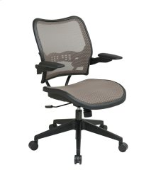 Deluxe Latte Airgrid Seat and Back Chair