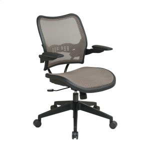 Office StarDeluxe Latte Airgrid Seat and Back Chair