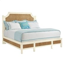 Coastal Living Resort Water Meadow Woven Bed-King in Sail Cloth