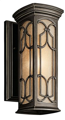 Franceasi 1 Light Wall Light Olde Bronze®