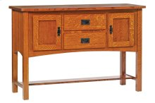 "54"" Mission Sideboard"