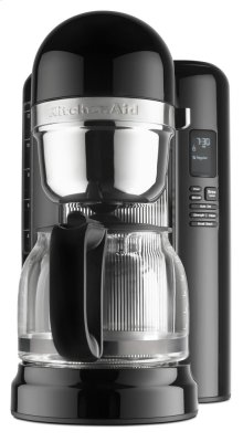 12 Cup Coffee Maker with One Touch Brewing - Onyx Black