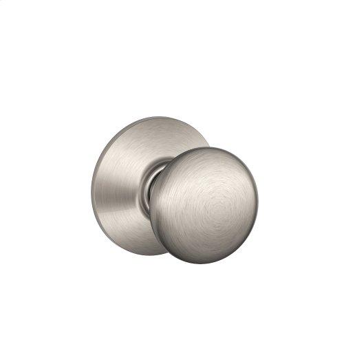 Plymouth Knob Hall & Closet Lock - Satin Nickel