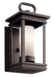 """South Hope 11.75"""" 1 Light Wall Light Rubbed Bronze"""