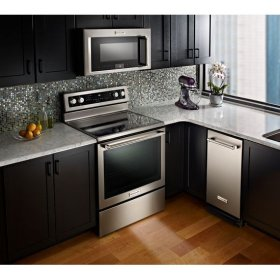 KitchenAid® 30-Inch 5-Element Electric Convection Range - Stainless Steel