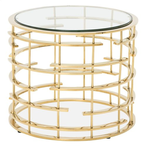 Plexus Round End Table