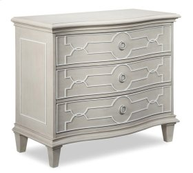 Chateaux Bedside Chest - Grey