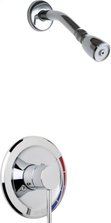 Shower Trim Kit with Shower Head